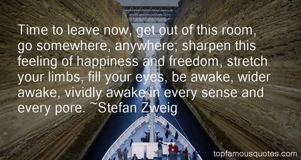 Stefan Zweig Quotes