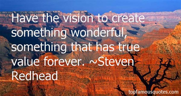 Steven Redhead Quotes