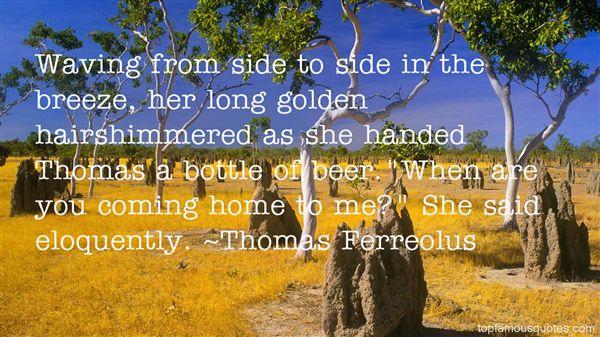Thomas Ferreolus Quotes