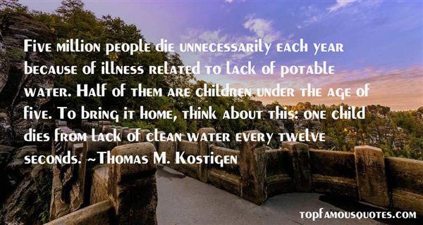 Thomas M. Kostigen Quotes