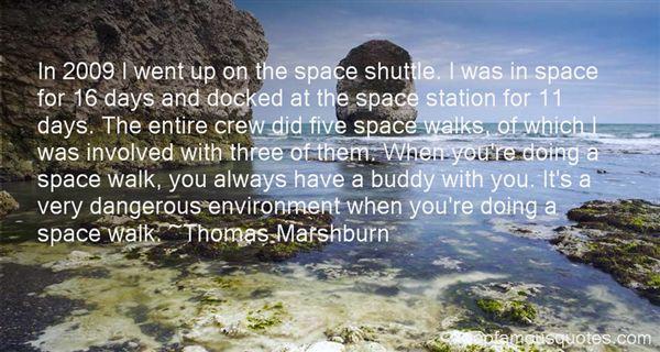 Thomas Marshburn Quotes