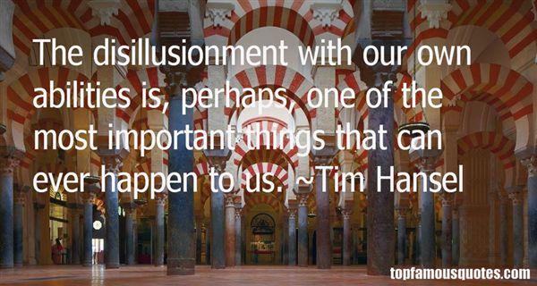 Tim Hansel Quotes