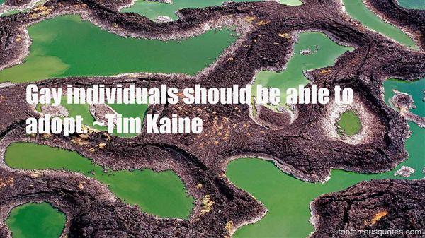 Tim Kaine Quotes