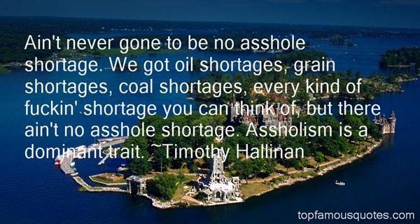 Timothy Hallinan Quotes