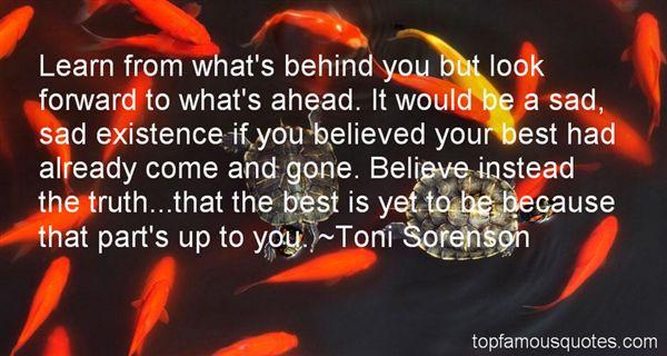 Toni Sorenson Quotes