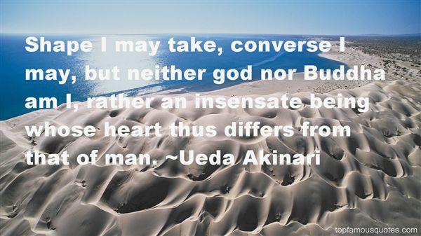Ueda Akinari Quotes