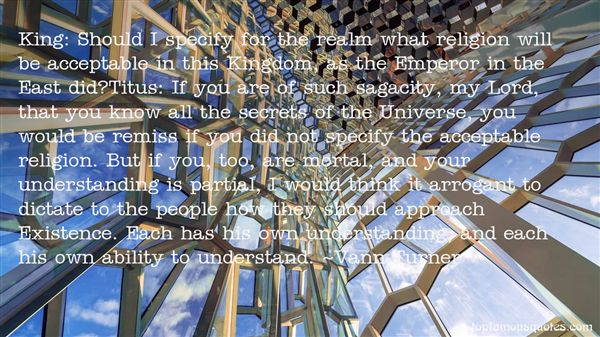 Vann Turner Quotes