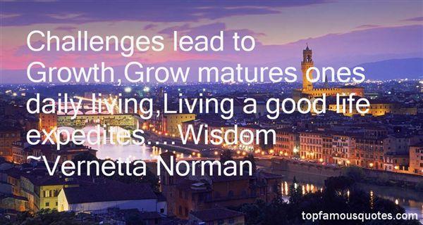 Vernetta Norman Quotes