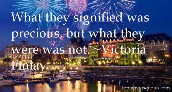 Victoria Finlay Quotes
