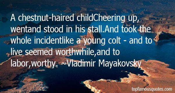Vladimir Mayakovsky Quotes