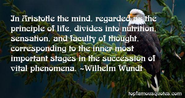 Wilhelm Wundt Quotes