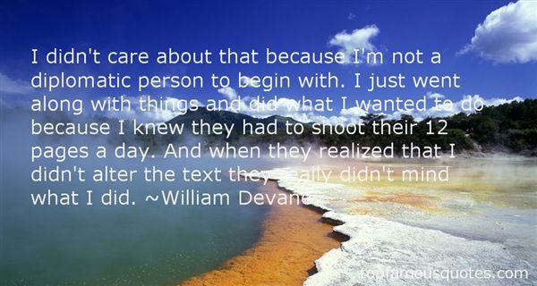 William Devane Quotes