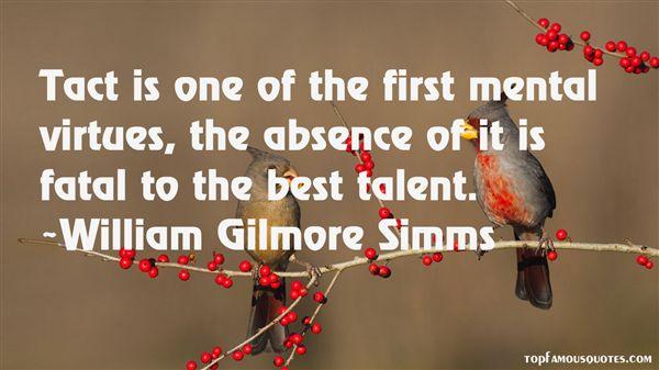 William Gilmore Simms Quotes