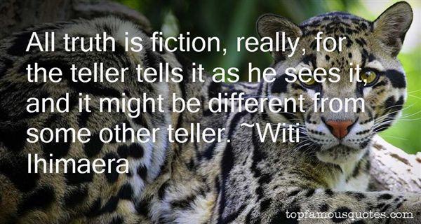 Witi Ihimaera Quotes