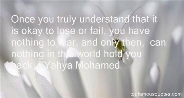 Yahya Mohamed Quotes