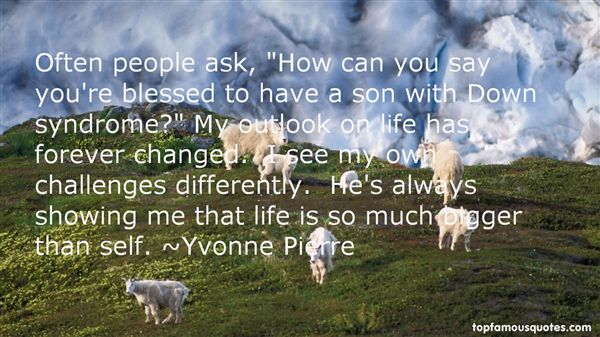 Yvonne Pierre Quotes