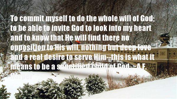 A.F. Harper Quotes