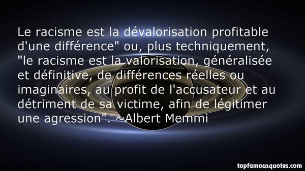 Albert Memmi Quotes