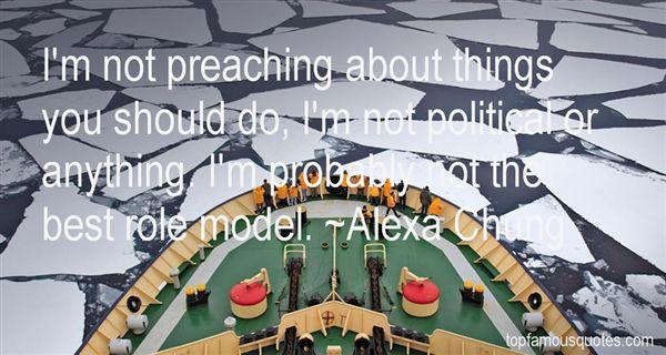Alexa Chung Quotes