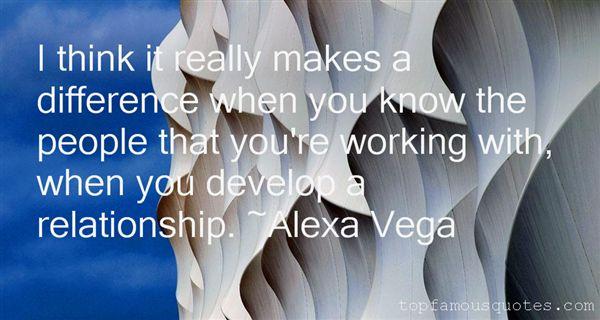 Alexa Vega Quotes