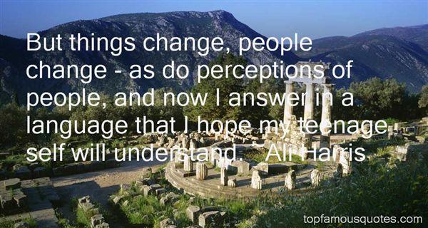 Ali Harris Quotes