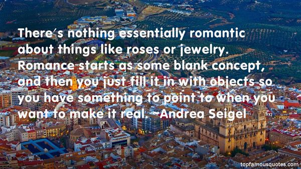 Andrea Seigel Quotes