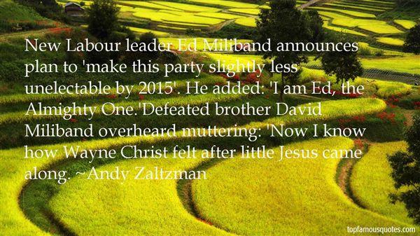 Andy Zaltzman Quotes