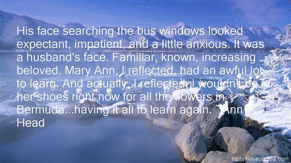 Ann Head Quotes