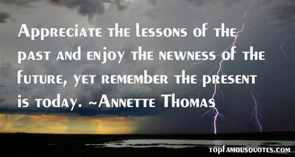 Annette Thomas Quotes
