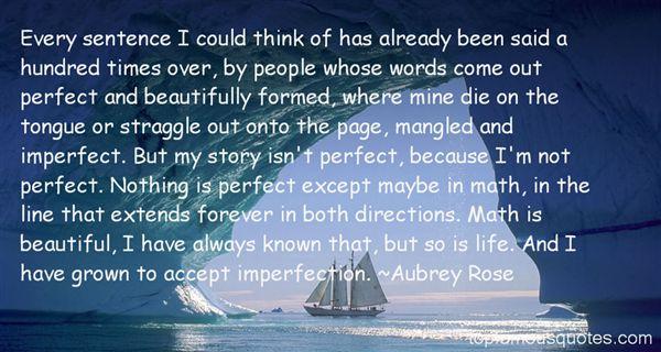 Aubrey Rose Quotes