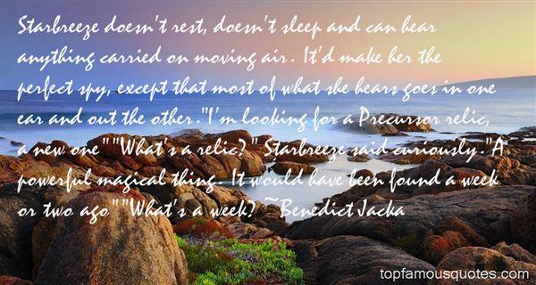 Benedict Jacka Quotes