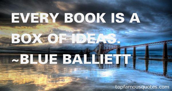 Blue Balliett Quotes