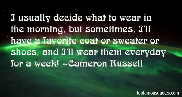 Cameron Russell Quotes