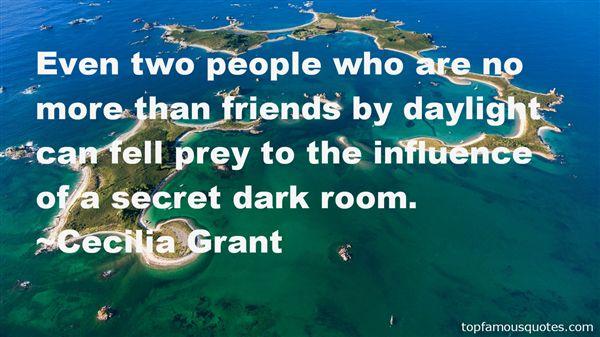 Cecilia Grant Quotes