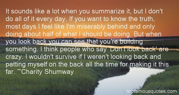Charity Shumway Quotes