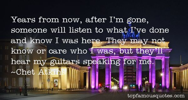 Chet Atkins Quotes