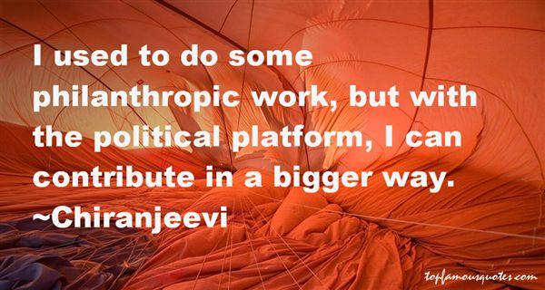 Chiranjeevi Quotes
