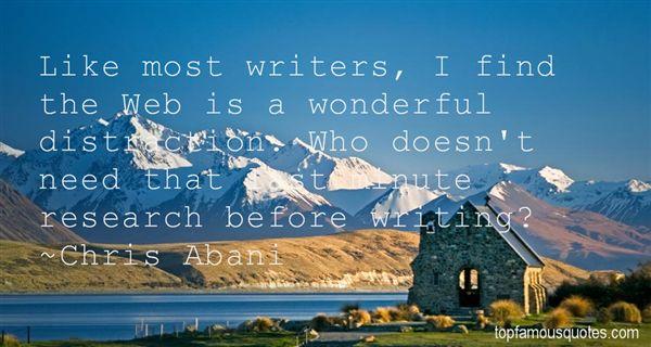 Chris Abani Quotes