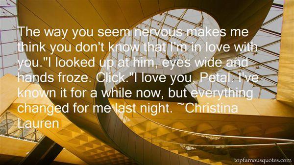 Christina Lauren Quotes