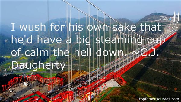 C.J. Daugherty Quotes