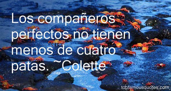 Colette Quotes