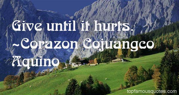Corazon Cojuangco Aquino Quotes