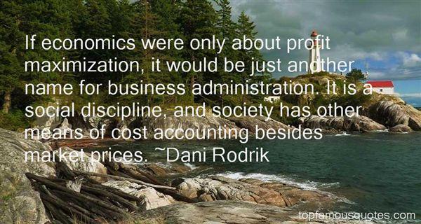 Dani Rodrik Quotes