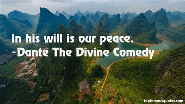 Dante The Divine Comedy Quotes