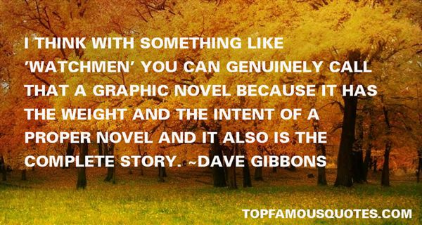 Dave Gibbons Quotes