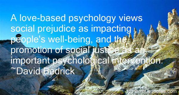 David Bedrick Quotes