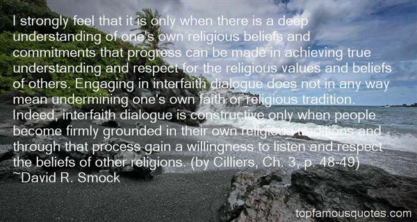 David R. Smock Quotes