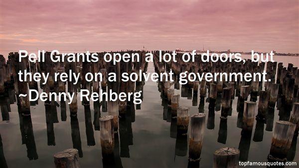 Denny Rehberg Quotes
