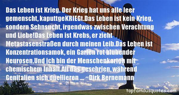 Dirk Bernemann Quotes