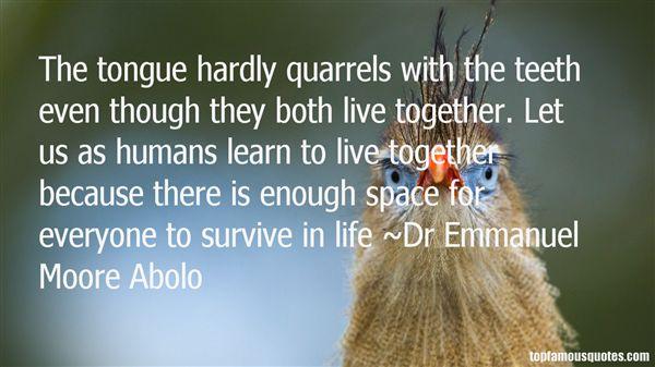 Dr Emmanuel Moore Abolo Quotes